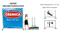 folding backdrops, Banners, Signs & Nameplates   The