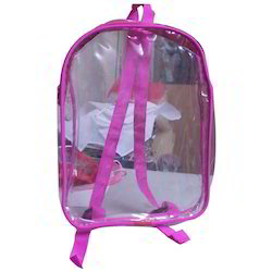 Transparent School Bag