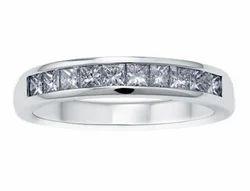 Enigma Single Line Diamond Ring