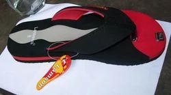 Denim Black Sandal
