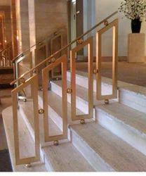 Brass Staircase Railings