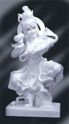 Marble Dancing Shiva Statue