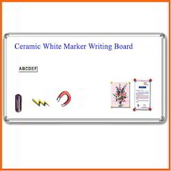 Ceramic White Marker Writing Board