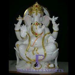 Marble Ganesh Murti