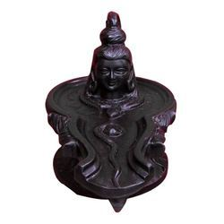 Jaleri Black Coated Marble Shivling