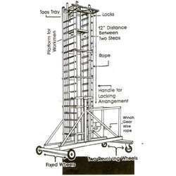 Tower Aluminium Ladder
