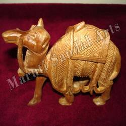 Sandalwood Carving Camel
