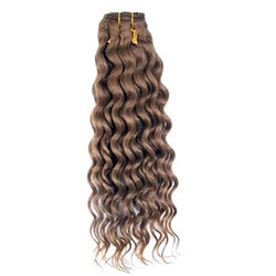 Deep Wave Hand Tied Colored Hair