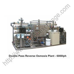 Double Pass Reverse Osmosis Plant - 6000LPH