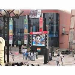 Outdoor LED Screens Rental Service