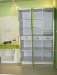 Modern Wardrobe With Cabinets