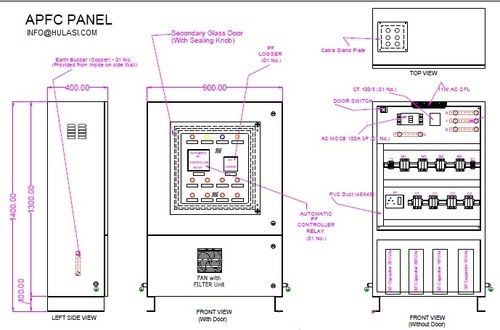 automatic power factor corrector panel hulasi metals private home wiring diagrams automatic power factor corrector panel