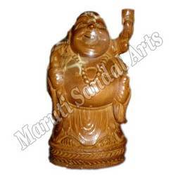 Sandalwood Laughing Buddha