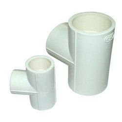 GK UPVC Tee, Thread Size: 1/2 Inch To 2 Inch, for PLUMBING AND STRUCTURE PIPE