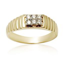 Wedding Diamond & Gold Ring