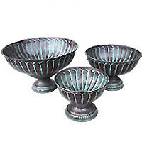 Metal Garden Bowls