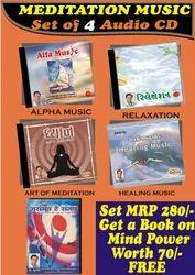 Meditaiton Music 4 Audio CDS With Free Mind Pwr Buk