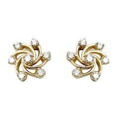 Gold Jewellery Earring