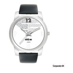 Men's Round Silver Dial Watches