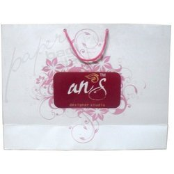 Rectangle Bag with Flower Design
