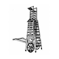 Square Telescopic Tower Ladder