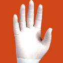 White Disposable Gloves