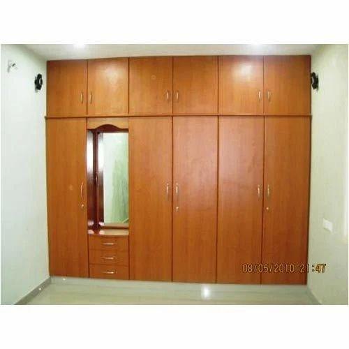 Modern Wooden Wardrobe, लकड़ी की अलमारी, लकड़ी की अलमारी ...
