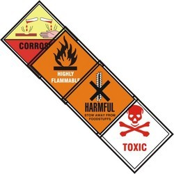 Chemical Safety Sticker