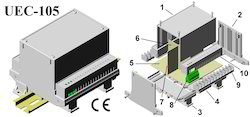 Din Rail Enclosures 112x88x110