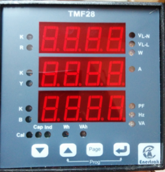 Multifunction Kilowatt Meters
