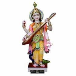 Marble Saraswati Statue In Jaipur Suppliers Dealers