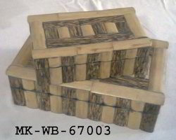 Rectangle Wooden Box for Home