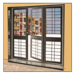 three shutter french door - French Window Designs For Homes