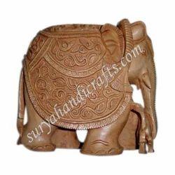 Wooden Kadam Elephant Jhular