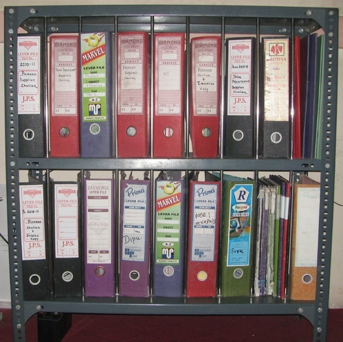 File Racks Cabinet