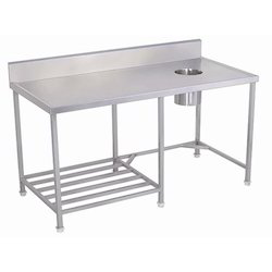 Solid Dish Landing Table