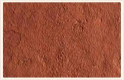 Terra Red Natural Slate Stone, Thickness: 10-20 mm