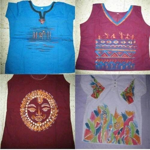 6e6570b788 Hand Painted Kurti - Painted Ladies Short Kurtis Manufacturer from ...