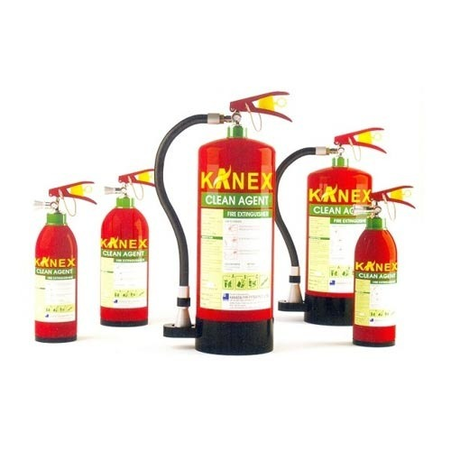 Carbon Steel Clean Agent Fire Extinguishers Kanex