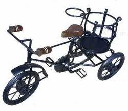 Wrought Iron Rickshaw, Size: 12