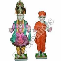 Marble Swaminarayan Idol