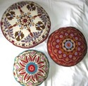 Suzani Floor Cushion Covers