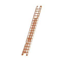 Aluminum Wall Mounted Extension Ladders