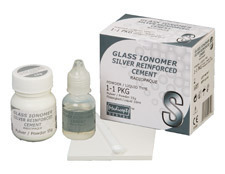 Glass Ionomer Silver Reinforced Cement