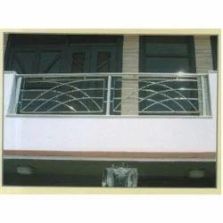 Stainless balcony railings elegant balcony railings - Balcony grill designs homes ...