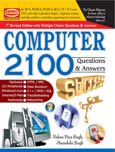 Computer 2100 Questions And Answers Text Book
