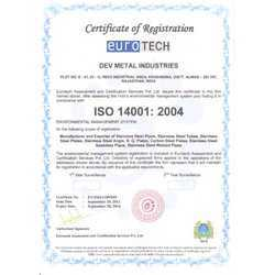 ISI 14001:2004 Certificate