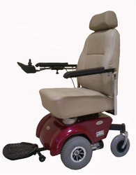 Powered Front Wheel Drive Deluxe Wheelchair