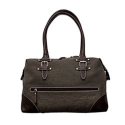 fc72e72f85f2 Canvas   Leather Combination Bag - Large Size Canvas   Leather ...