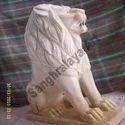Sitting Lion Statue